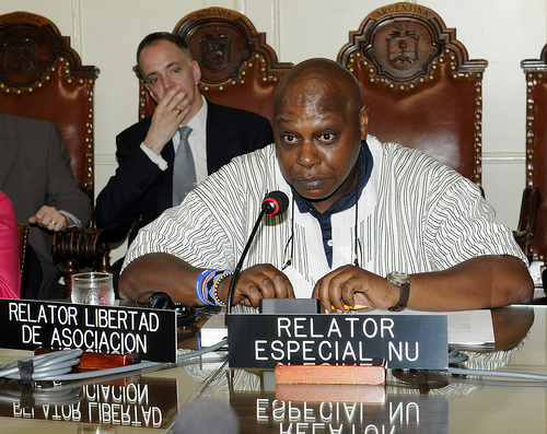 United Nations Special Rapporteur on the rights to freedom of peaceful assembly and of association