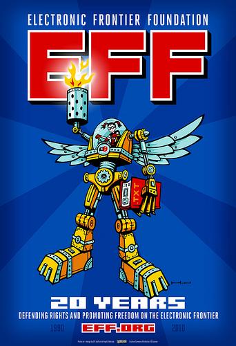EFF's 20th Birthday Commemorative Poster
