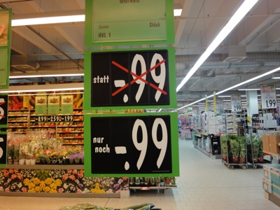 99 Cent in Hellersdorf
