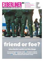 Cover Exberliner Juni 2010