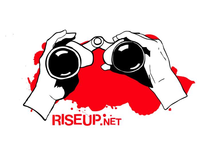 Riseup Zine Cover