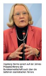 FAZ nennt Generalbundesanwältin Monika Harms Ingeborg