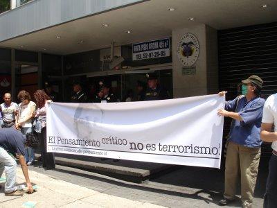 El Pensamiento critica no es terrorismo