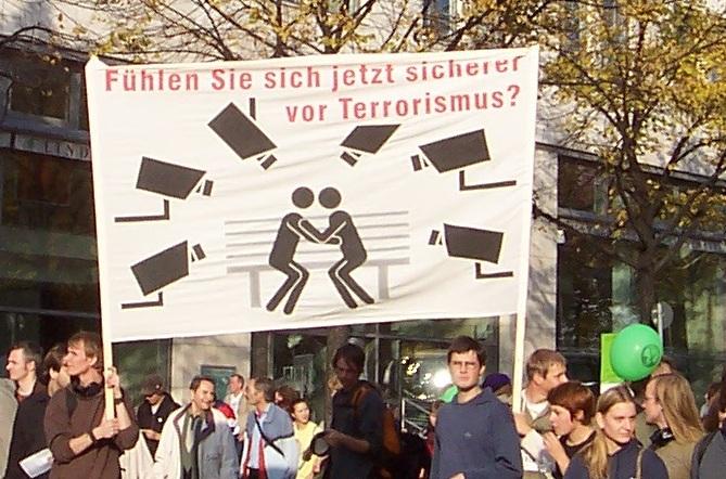 Demo Freiheit statt Angst 11.10.08