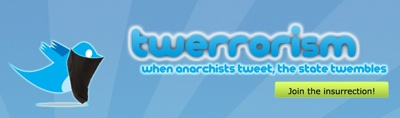 When anarchists tweets, the state twembles